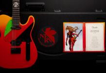 Fender Asuka Telecaster Evangelion