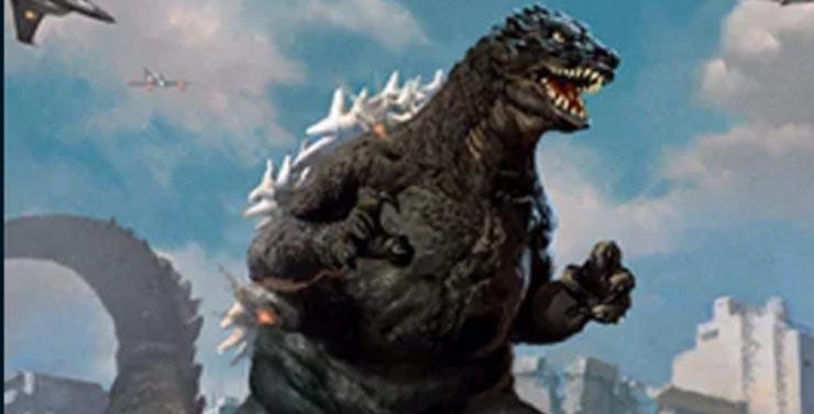 Godzilla chega ao Magic: The Gathering em Ikora