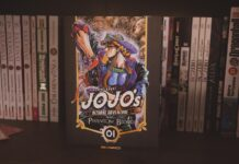 jojo phantom blood manga paninii