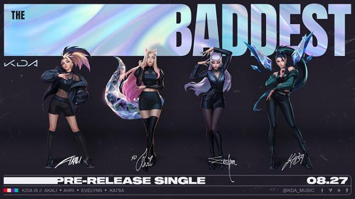the baddest kda