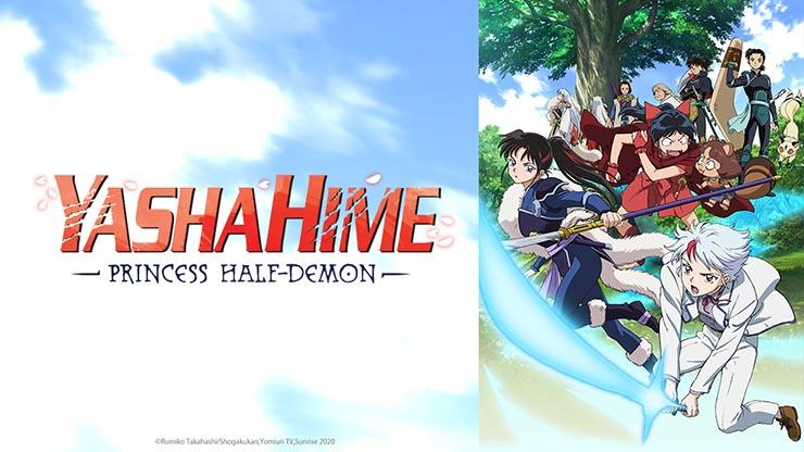 Crunchyroll anuncia Yashahime: Princess Half-Demon