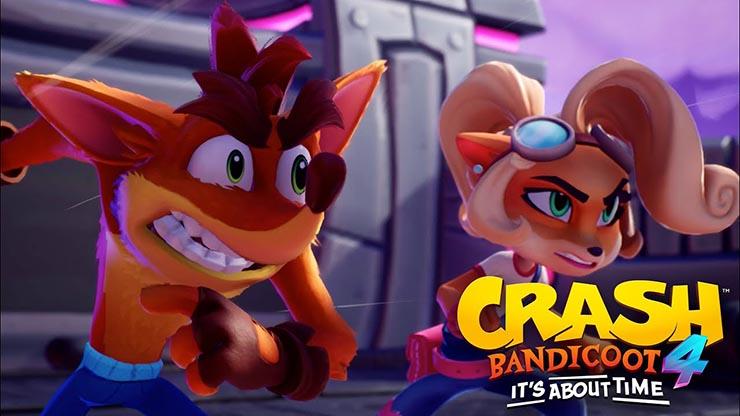 Crash Bandicoot 4: It's About Time ganha novo trailer de gameplay