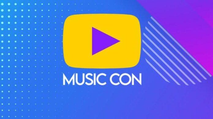 play music con
