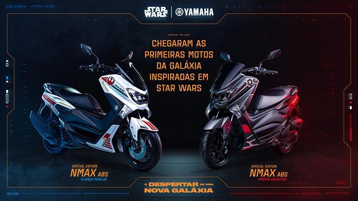 Yamaha lança Concurso Cultural de moto inspirada em Star Wars