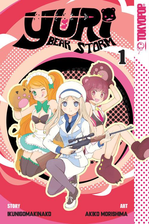 Yuri Bear Storm, pela TokyoPop (Capa Divulgação)