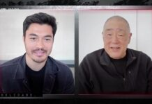 Henry Golding Larry Hana GI Joe Origens ccxp worlds