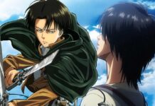 attack on titan levi eren