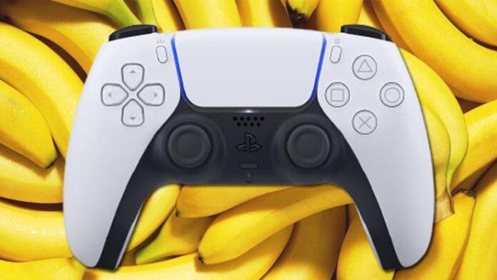 sony controle banana