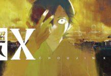 Choujin X Mangá Cover