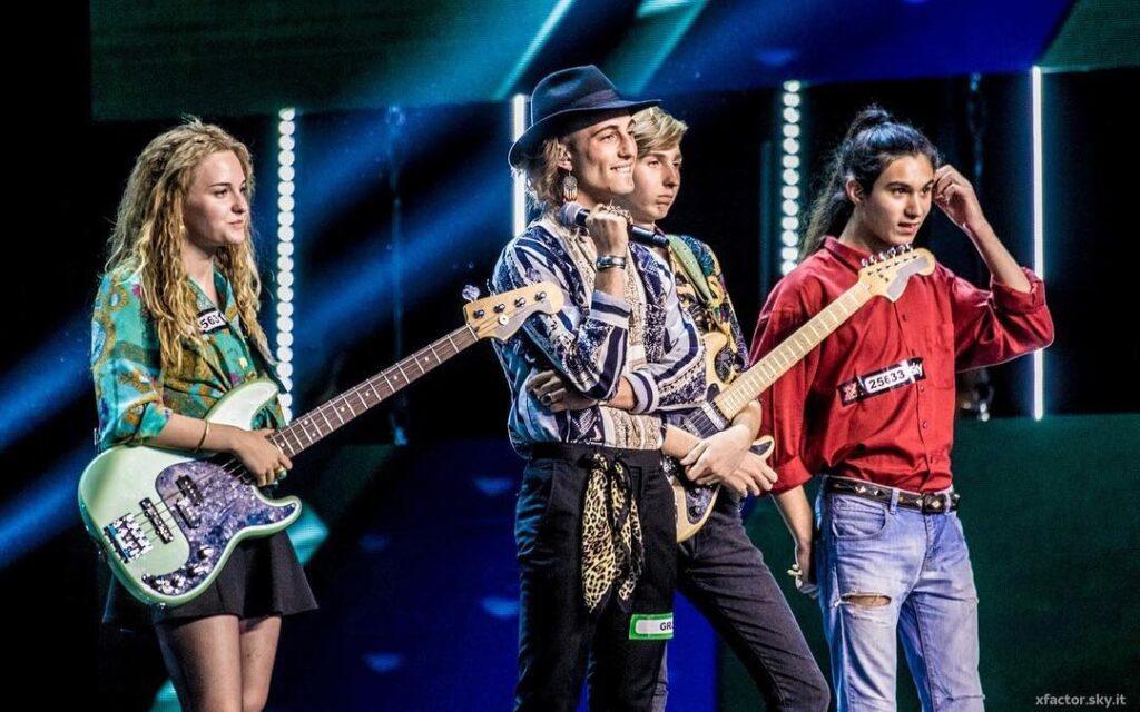 Måneskin em perfomance no X Factor 2017