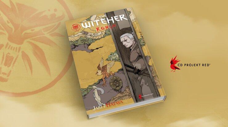 The Witcher: Ronin, versão em capa dura da HQ (CD Projekt RED)