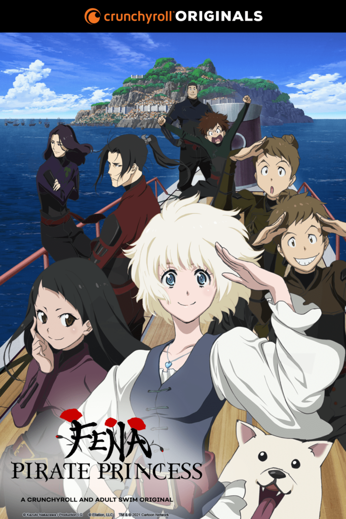 Fena: Pirate Princess Poster 1