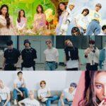 Grupos Red Velvet, stray kids, CRAVITY e Sunmi