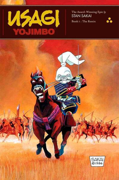 Usagi Yojimbo capa