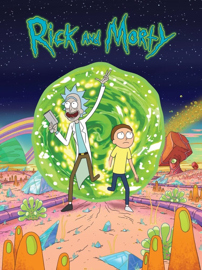 Rick and Morty curta