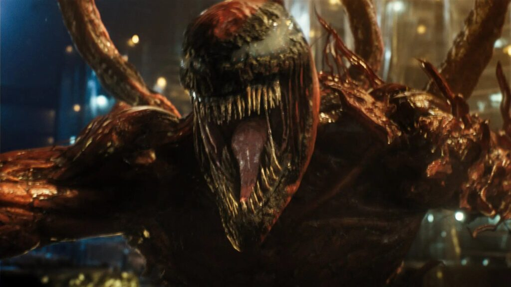 Venom tempo de carificina